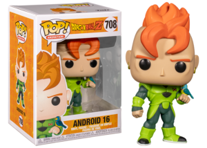 Funko Pop! Dragon Ball Z: Android 16 #708