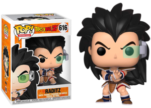 Funko Pop! Dragon Ball Z: Raditz #616