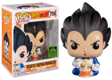 Funko Pop! Dragon Ball Z: Vegeta Eating Noodles #758