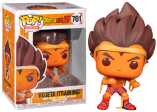 Funko Pop! Dragon Ball Z: Vegeta (training) #701