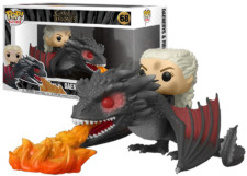 Funko Pop! Game of Thrones: Daenerys and Fiery Drogon #68