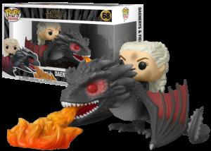 Funko Pop! Game of Thrones: Daenerys and Fiery Drogon #68
