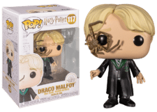 Funko Pop! Harry Potter: Malfoy with Whip Spider #117