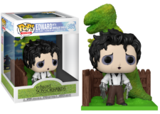 Funko Pop Deluxe! Edward Scissorhands: Edward and Dino #985