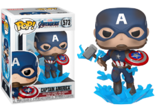 Funko Pop! Avengers Endgame: Cap with Mjolnir #573