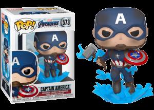 Funko Pop! Avengers Endgame: Cap with Mjolnir #573