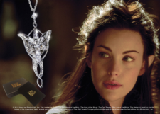 Lord of the Rings: Arwen Evenstar Pendant Costume