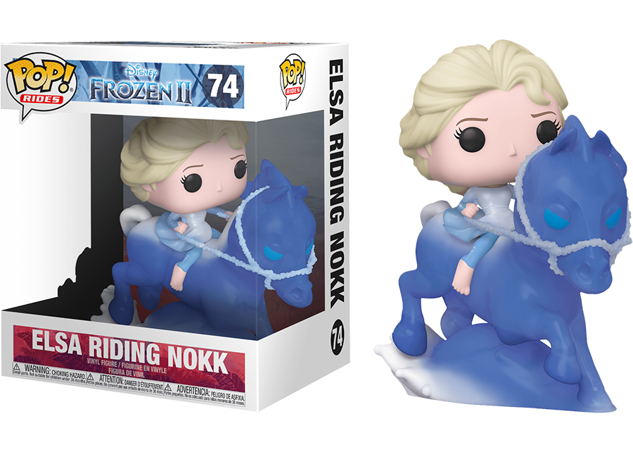 Funko Pop Frozen 2 Elsa Riding Nokk 74