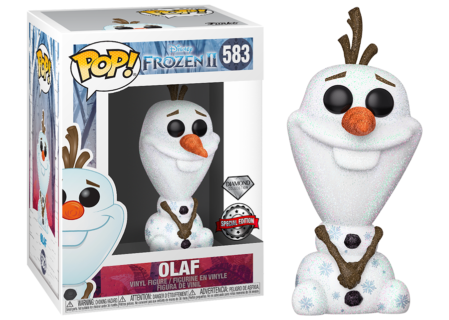 Funko Pop! Frozen 2: Olaf Diamond Glitter #583