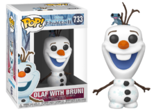 Funko Pop! Frozen 2: Olaf with Bruni #733