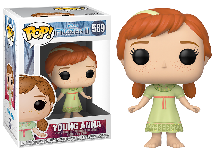 Funko Pop Frozen 2 Young Anna 589