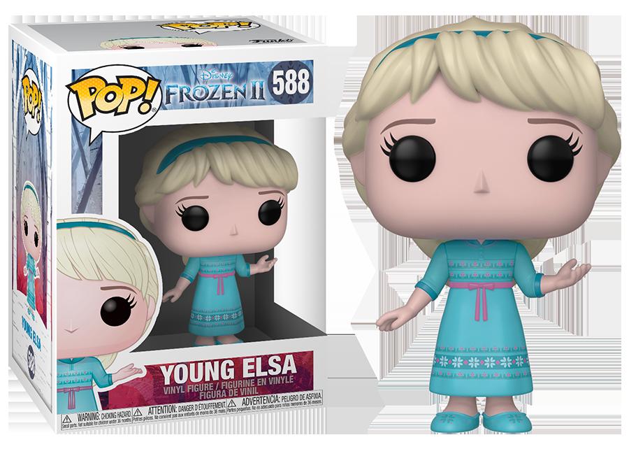 Funko Pop! Frozen 2: Young Elsa #588