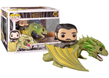 Funko Pop! Game of Thrones: Jon Snow on Rheagal #67