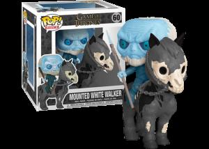 Funko Pop! Game of Thrones: Mounted White Walker #60