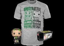 Funko Pop! & Tee Ghostbusters: Slimer VS Venkman