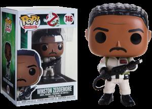 Funko Pop! Ghostbusters: Winston Zeddemore #746