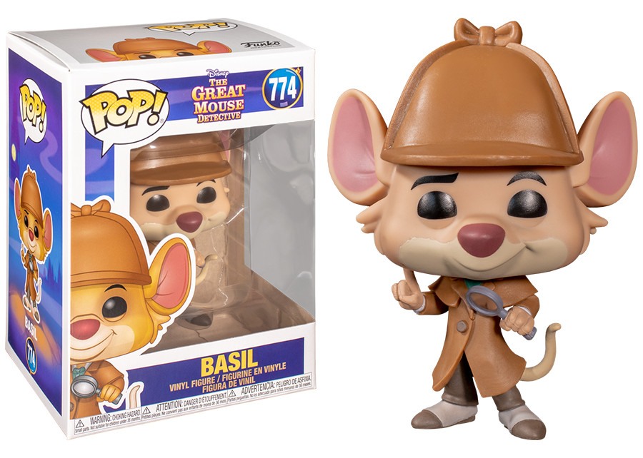 Funko Pop! The Great Mouse Detective: Basil #774