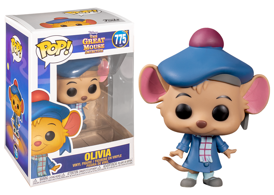 Funko Pop! The Great Mouse Detective: Olivia #775