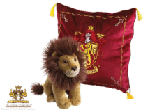 Harry Potter: Plush Gryffindor House Mascot and Cushion