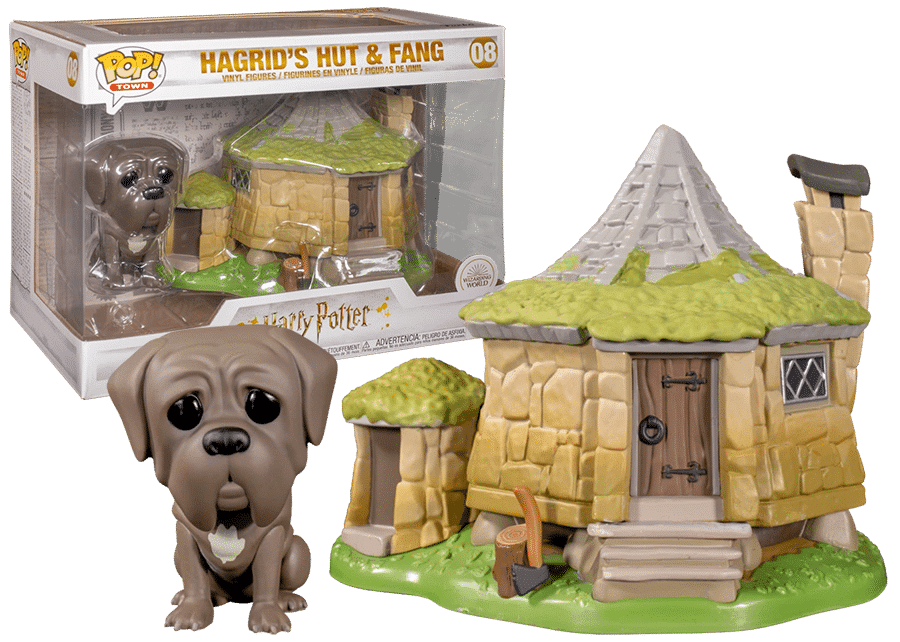 Funko Pop! Harry Potter: Hagrid's Hut with Fang #08