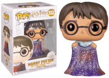 Funko Pop! Harry Potter: Harry w/Invisibility Cloak #112