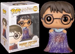 Funko Pop! Harry Potter: Harry w/Invisibility Cloak #112