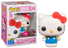 Funko Pop! Hello Kitty: Classic Flocked #28