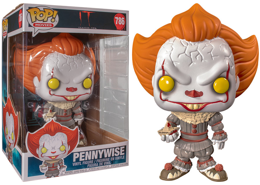 Funko Pop! IT: 10 inch Pennywise #786