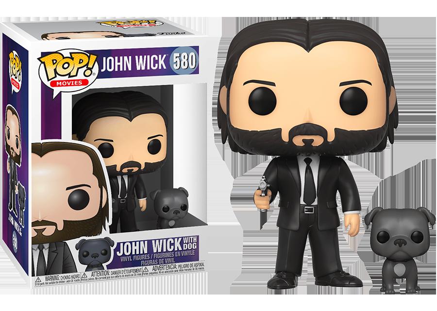 Funko Pop! John Wick with dog #580