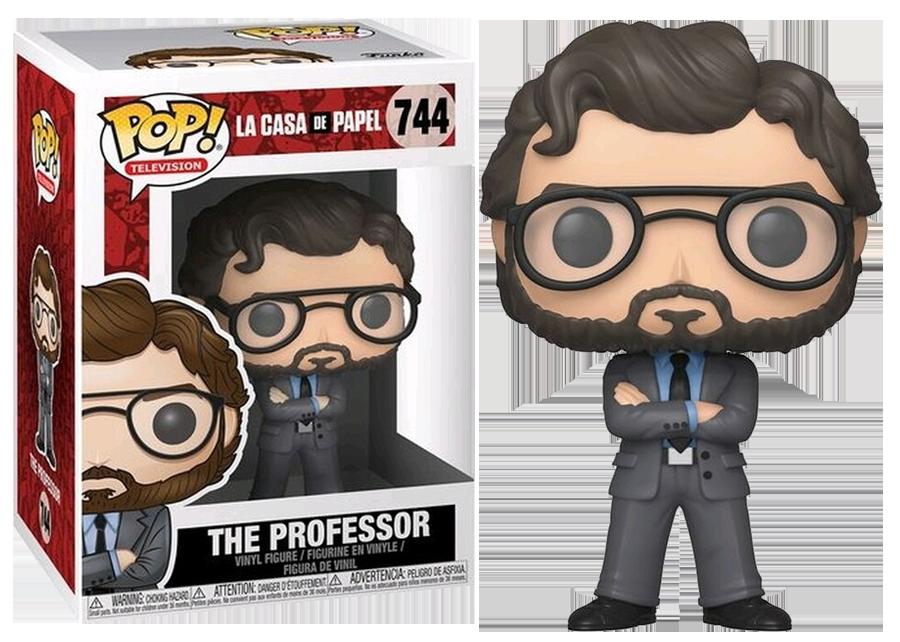Funko Pop! La Casa de Papel: The Professor #744
