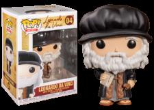 Funko Pop! Icons: Leonardo Da Vinci #04