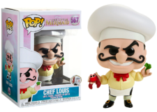Funko Pop! The Little Mermaid: Chef Louis #567
