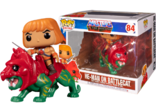 Funko Pop! MOTU: He-Man on Battlecat #84