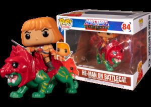 Funko Pop! MOTU: He-Man on Battlecat #84