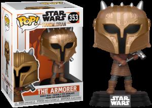 Funko Pop! The Mandalorian: The Armorer #353