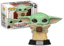 Funko Pop! The Mandalorian: The Child with Cup #378