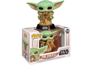 Funko Pop! The Mandalorian: The Child with Frog #379