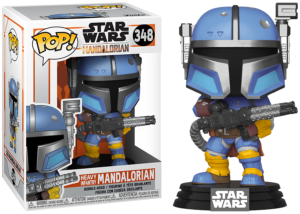 Funko Pop! The Mandalorian: Heavy Infantry #348