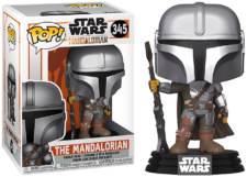 Funko Pop! The Mandalorian: The Mandalorian #345