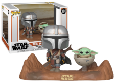 Funko Pop! The Mandalorian: The Mandalorian with the Child #390