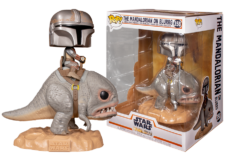 Funko Pop! The Mandalorian: Mandalorian on Blurg #358