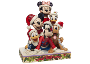 """Disney Traditions: Mickey and Co """"Piled High with Holiday Cheer"""""""