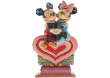 "Disney Traditions: Mickey and Minnie ""Heart to Heart"""