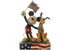 "Disney Traditions: Mickey and Pluto ""A Banner Day"""