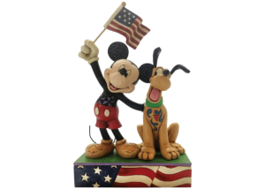 """Disney Traditions: Mickey and Pluto """"A Banner Day"""""""