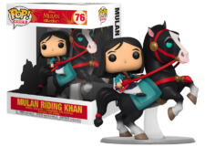 Funko Pop! Mulan: Mulan Riding Khan #76