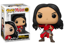 Funko Pop! Mulan: Mulan Warrior #637