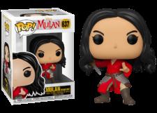 Funko Pop! Mulan: Mulan Warrior #637