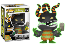 Funko Pop! NBC: Harlequin Demon (GitD) #212