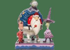 Disney Traditions: Lock Shock and Barrel with Santa